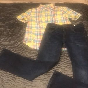 Boys size 12 outfit
